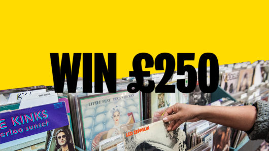 Win £250 worth of Vinyl