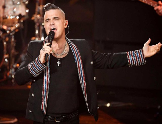 Robbie Williams Shares Covid-19 Inspired Song, 'Can't Stop Christmas'