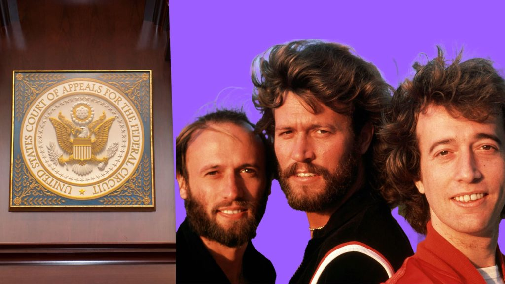 Copyright lawsuits Bee Gees