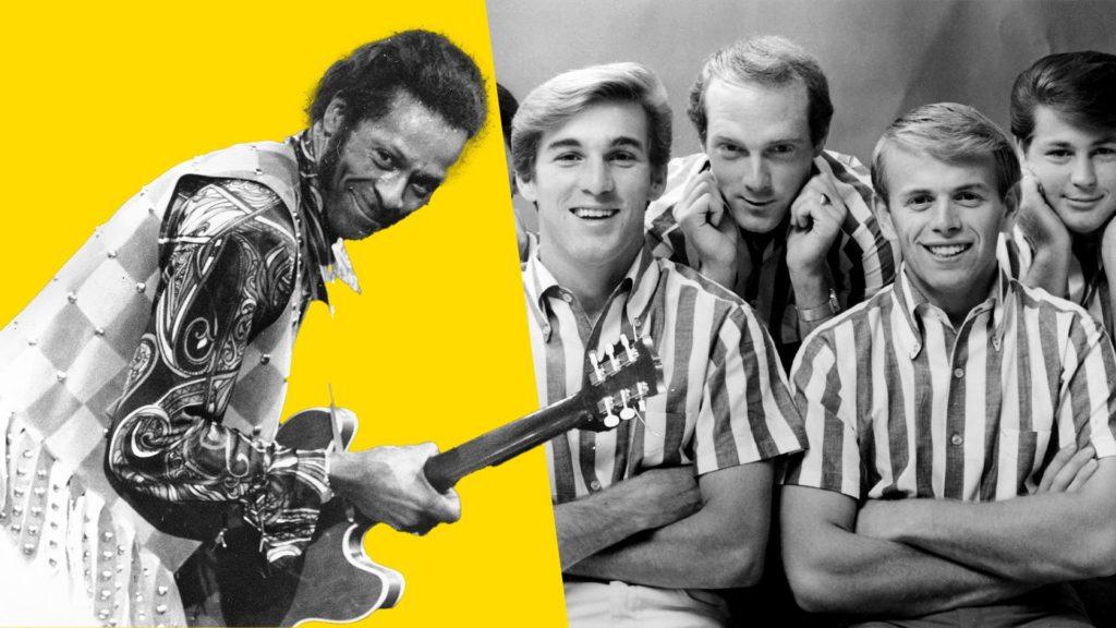 Copyright lawsuits Chuck Berry Beach Boys