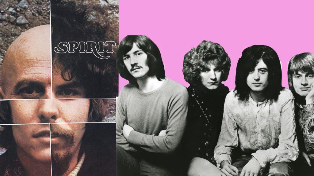 Copyright lawsuits Led Zeppelin Spirit