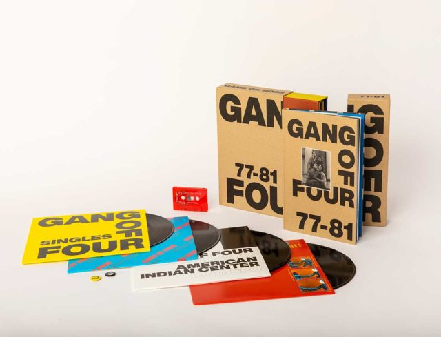 New Gang Of Four 77:81 Limited Edition Box Set Announced