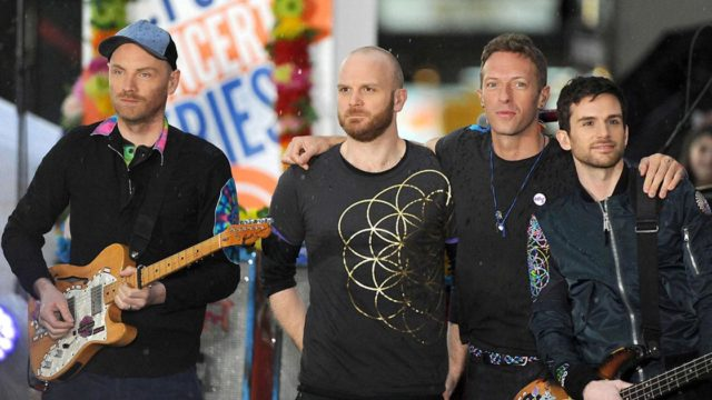 Coldplay Preview New Single Higher Power