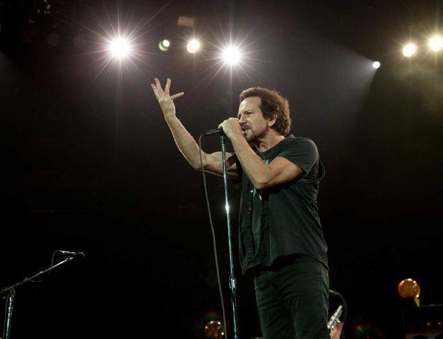 Eddie Vedder of Pearl Jam performs live in Toronto 2016