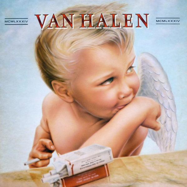 1984 van halen album cover