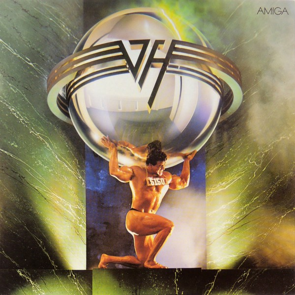 5150 Van Halen Album Cover