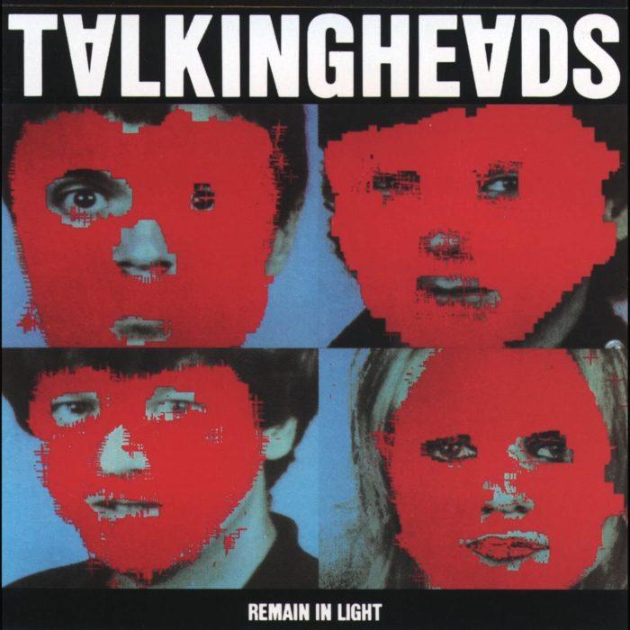 Remain in Light 80s album cover