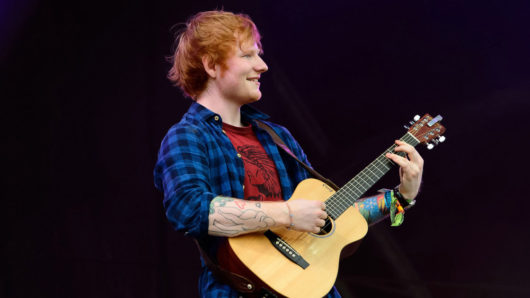 Ed Sheeran Scores 10th UK Number One Single With 'Bad Habits'