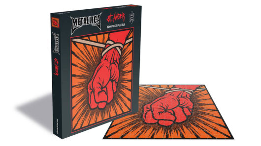 Metallica To Release Three New Jigsaw Puzzles
