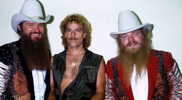 Billy Gibbons, Frank Beard, Dusty Hill of ZZ Top