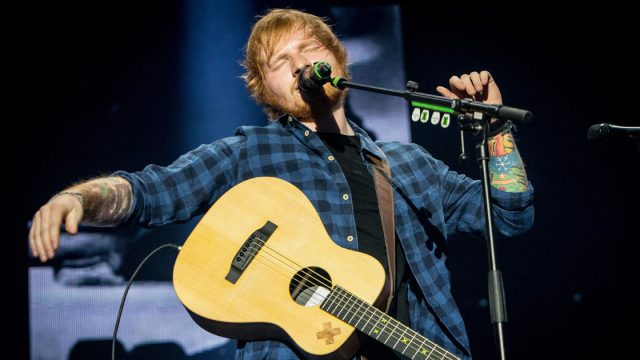 Ed Sheeran HMV 100 Years