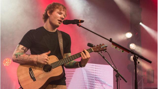 Ed Sheeran Intimate London Show