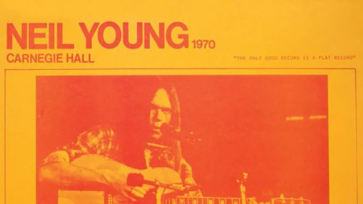 Neil Young Official Bootleg Series To Begin With 'Carnegie Hall 1970'