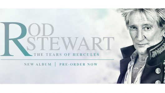 Rod Stewart Announces New Album, 'The Tears Of Hercules'
