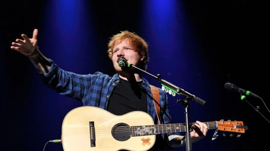 Ed Sheeran Performs 'Fix You' With Coldplay At Their Intimate London Show